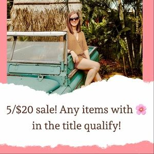 SALE SALE SALE ALL MUST GO!